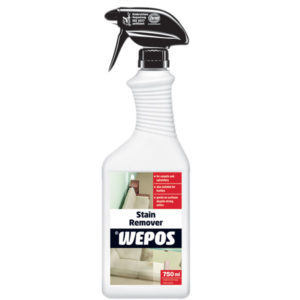Stain remover for carperts, rugs and fabric upholstery